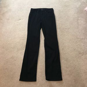 NYDJ Marilyn Straight Leg BlackJeans